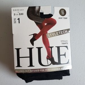 Hue Heat Temp Tights Size 1